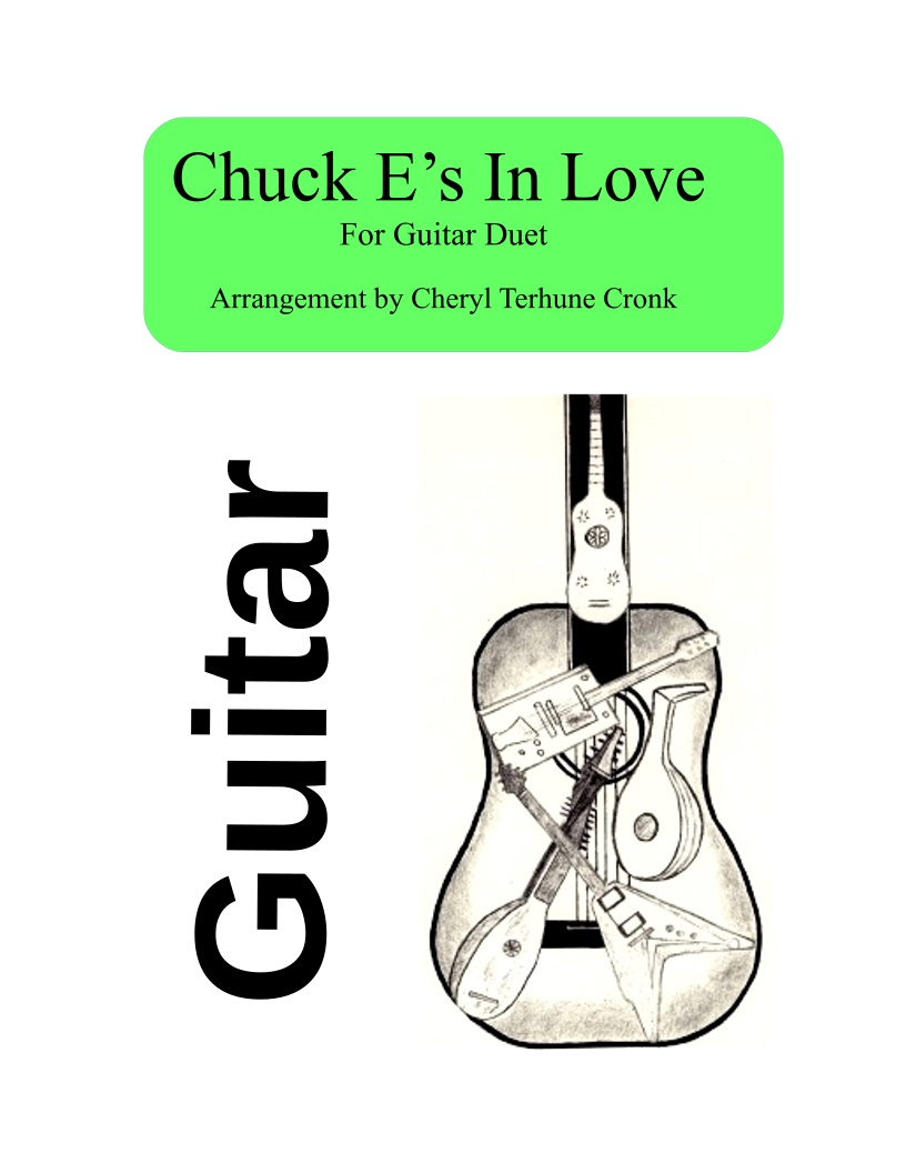 'Chuck E's in Love' for guitar duet