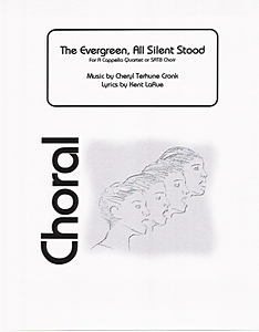 Cover 'The Evergreen, All Silent Stood'