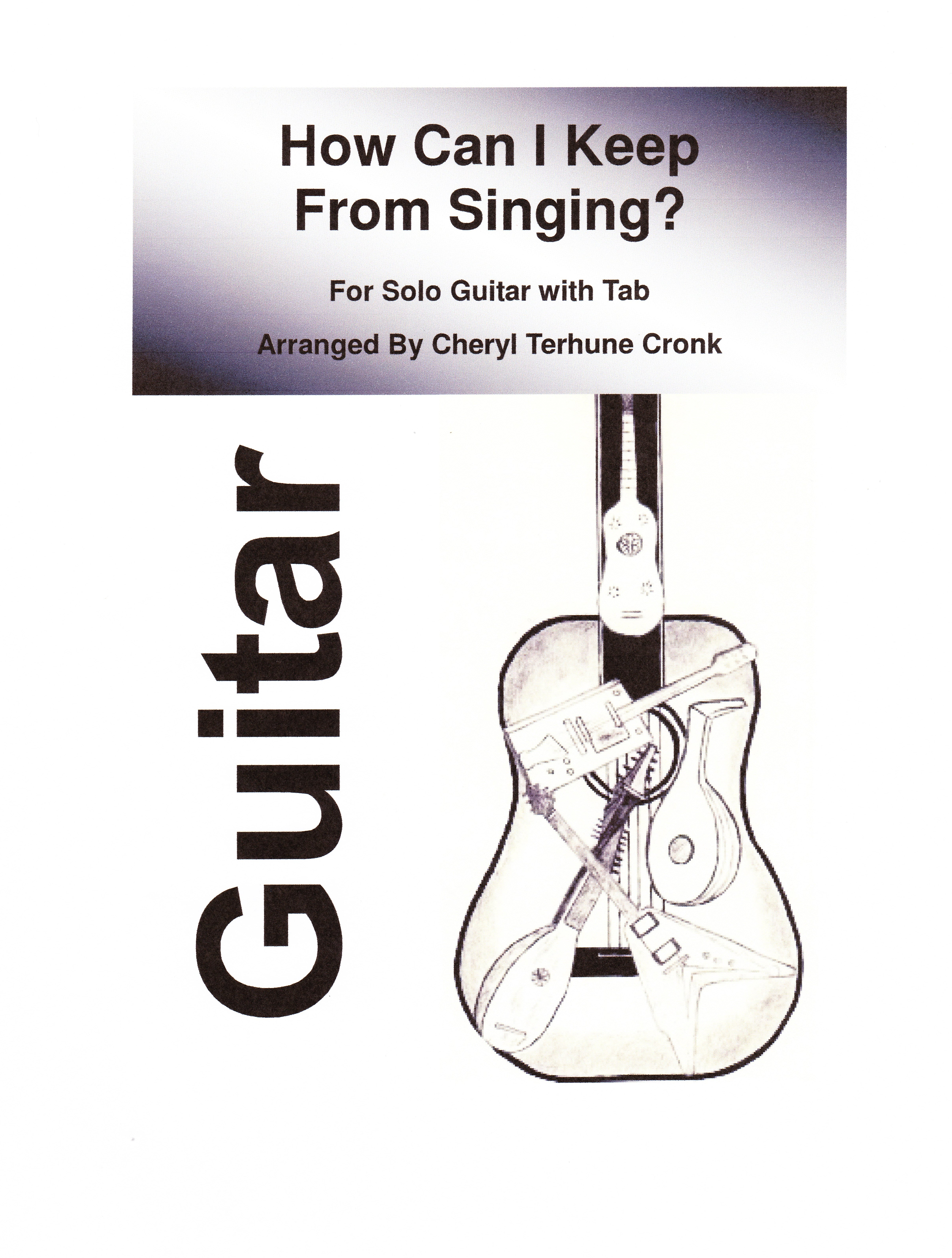 'How Can I Keep From Singing' for solo guitar